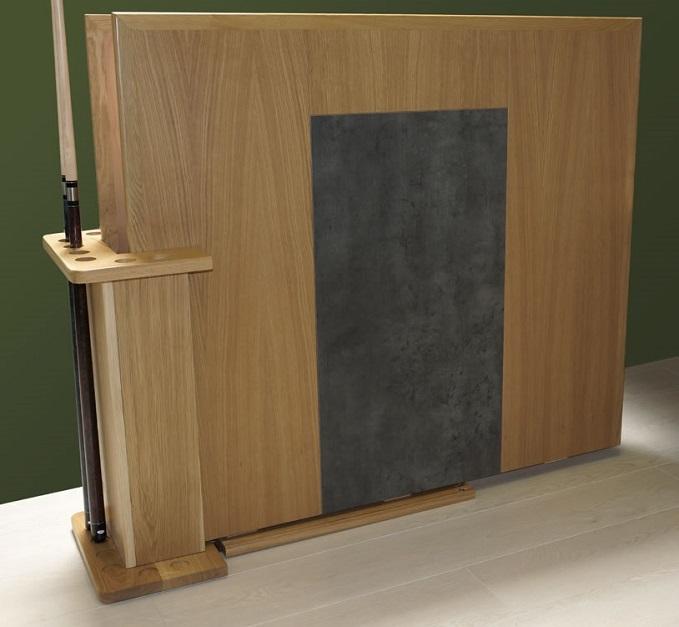 Billard table harmony c en bois massif eurobillards for Porte queue billard moderne
