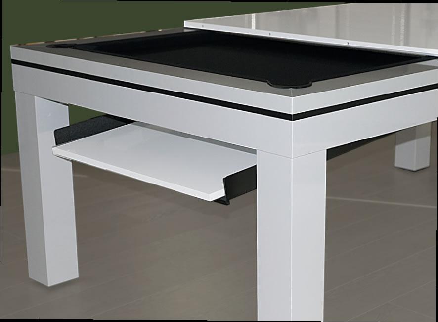 Table tiroir escamotable trendy conforama tiroir socle for Plateau escamotable cuisine